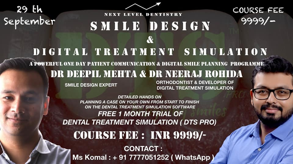 SMILE DESIGN AND DIGITAL TREATMENT SIMULATION