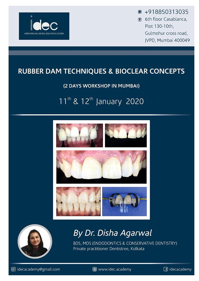RUBBER DAM techniques and bioclear concepts