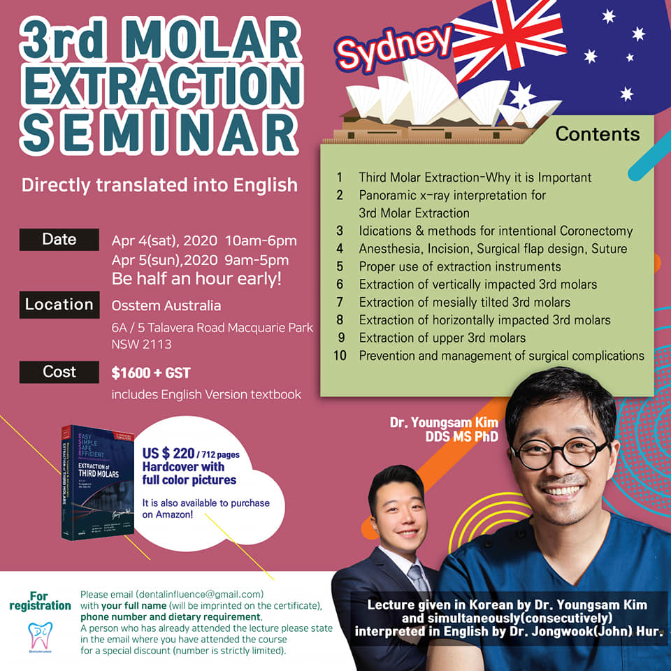 3rd Molar Extraction seminar