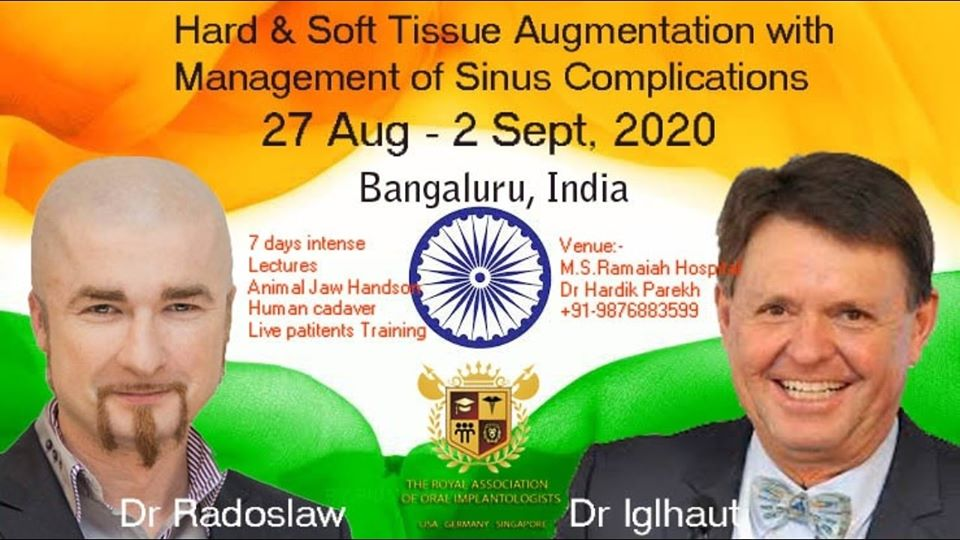 Hard & Soft Tissue Augmentation With Management Of Sinus Complications