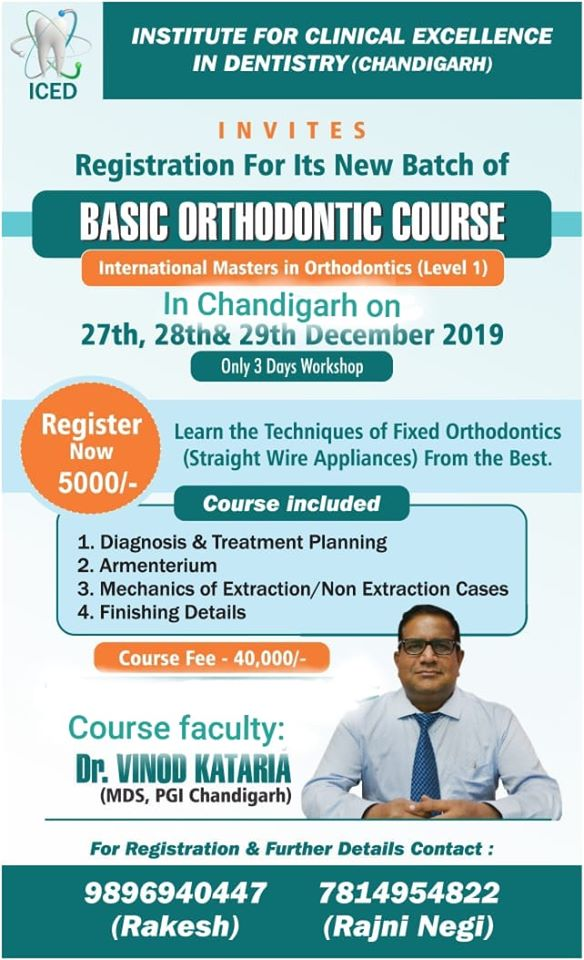 Basic Orthodontic Course