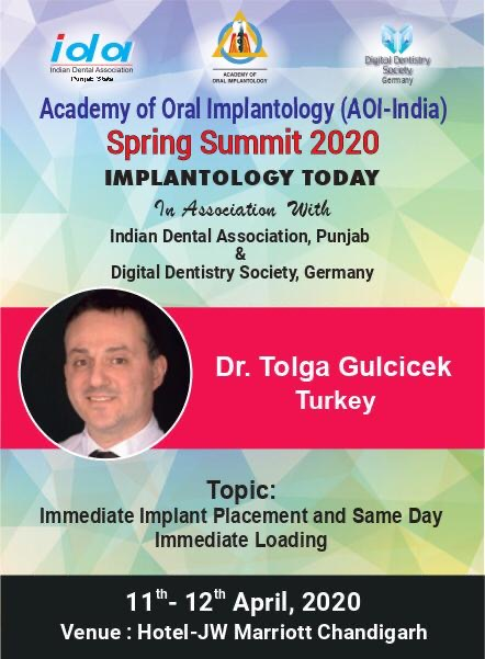 Academy Of Oral Implantology (AOI-India) Spring Summit 2020 Implantology Today In Association