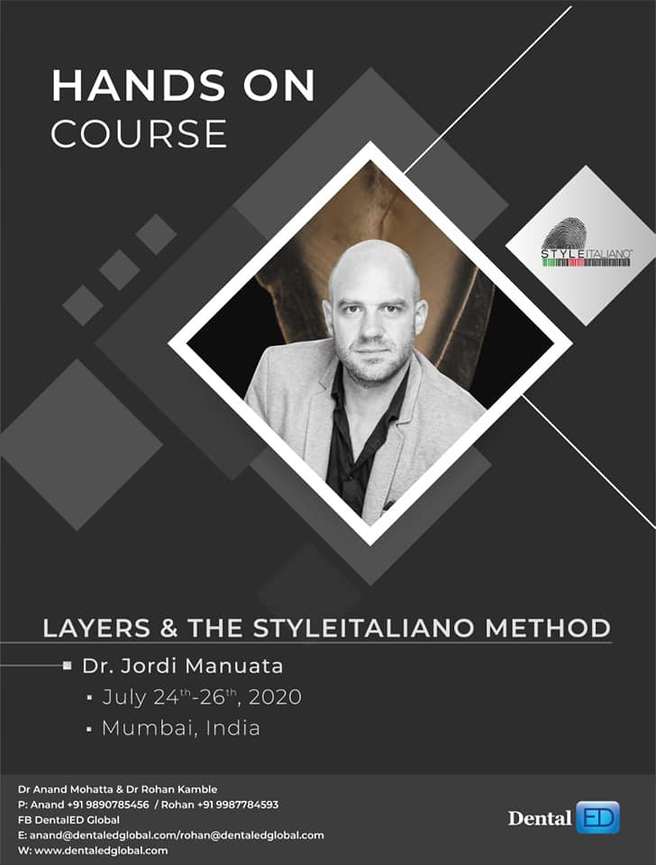 Hand On Course Layers & The Styletaliano Method