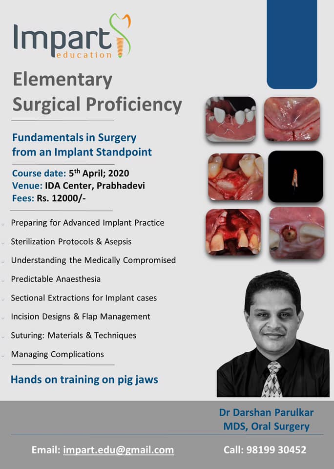 Elementary Surgical Proficiency