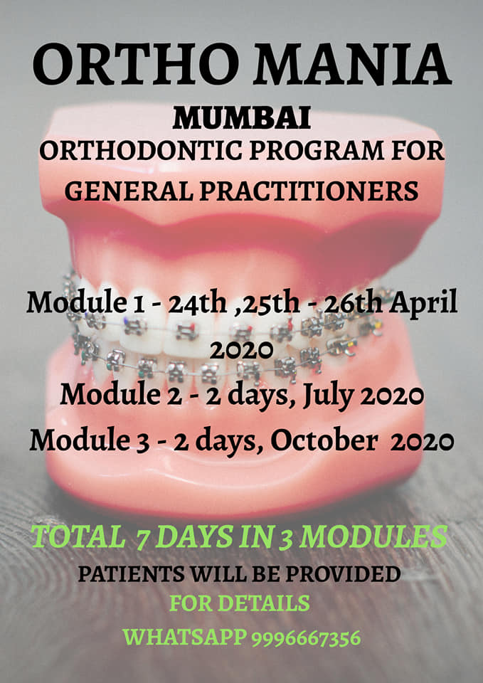 Othodontic Program For General Practitioners