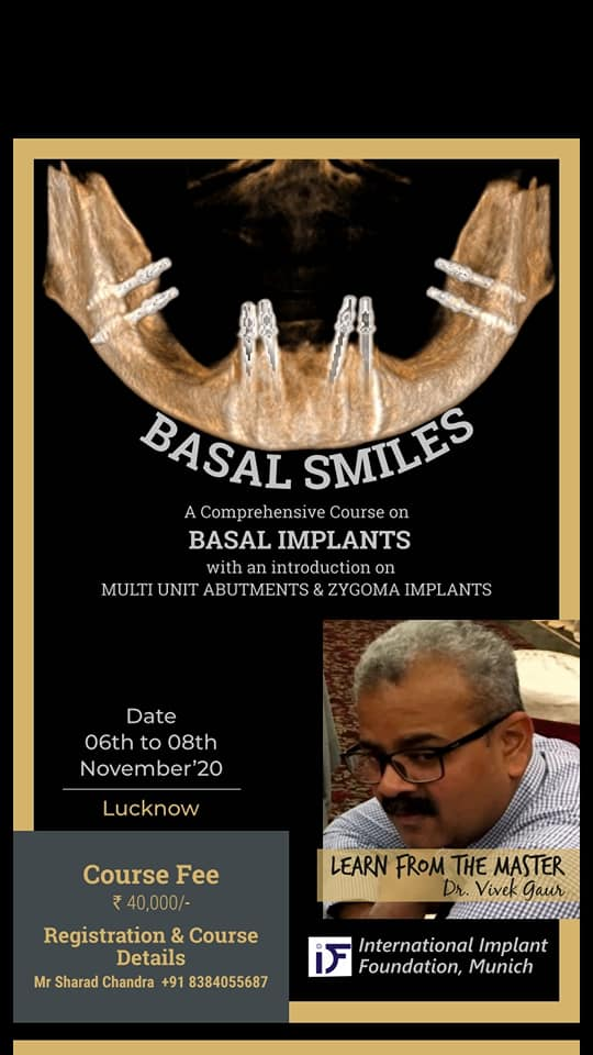 Comprehensive course on Basal Implants